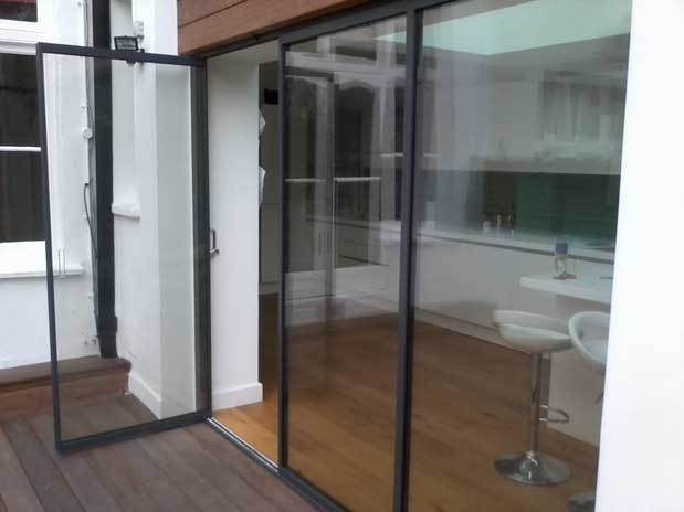 Ultra Slim Patio Doors Slimline Bi Folding Doors Slim