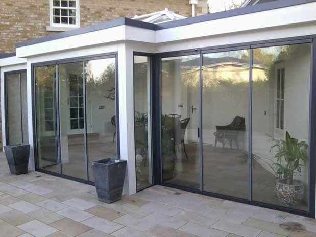 Ultra Slim Patio Doors Slimline Bi Folding Doors Slim Bifold Doors